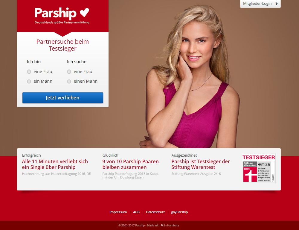 parship Angebot